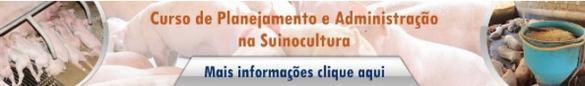planejamento e admininstração da suinocultura